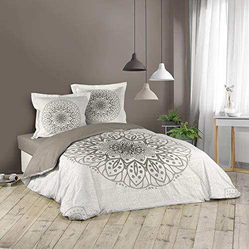 Juego de ropa de cama de 3 piezas, 240 x 220 cm Symetrix