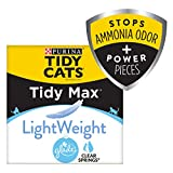 Purina Tidy Cats Clumping, Lightweight Cat Litter, Tidy Max Glade Clear Springs Multi Cat Litter - 17 lb. Box