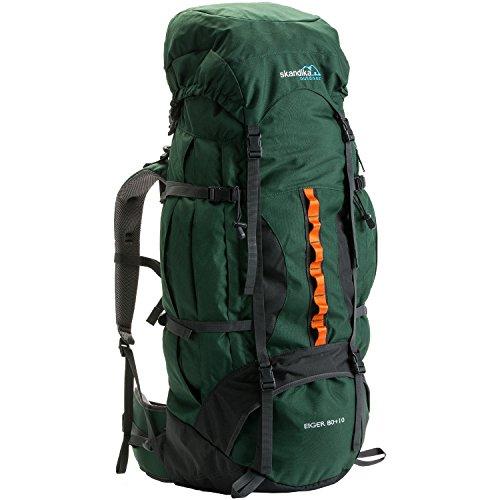 skandika Eiger 80+10 litros - Mochila Trekking/montañismo -