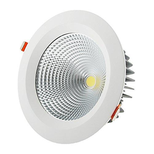 Foco Downlight LED 40W Cobslim Circular Blanco Neutro 4000K 3600-4000LM