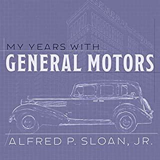 My Years with General Motors audiobook cover art