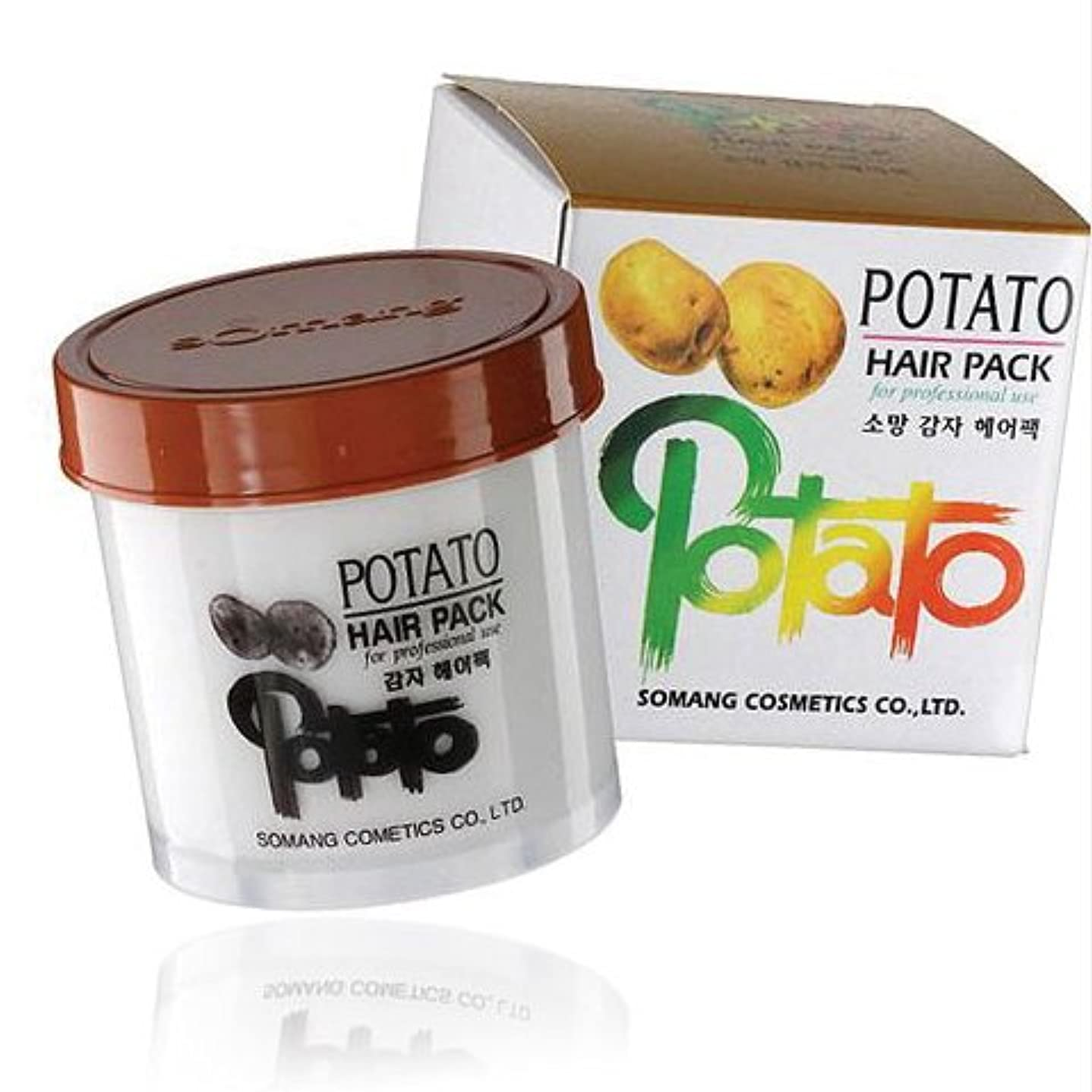 適切に泥沼資格情報【韓国コスメ】[Somang/希望]Somang Potato Hair Pack 150ml/ポテト(ジャガイモ)ヘアパック(海外直送品)