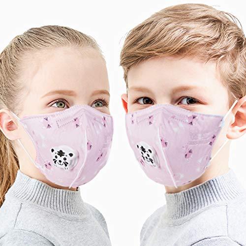 AIORNIY 1/10/20-teilig Kinder Netter Cartoon AntiDust Gesichtsschutz Atmungsaktive Staubschutz Schutz