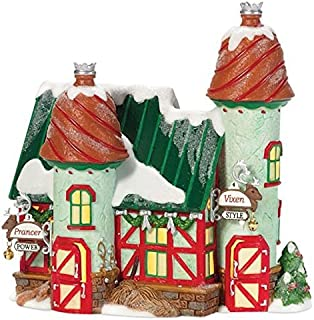 Department 56 North Pole Reindeer Stables, Prancer and Vixen by Department 56