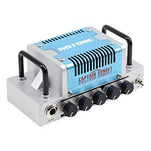 Hotone Captain Sunset High Gain Guitar Amp Head 5 Watts Class AB Amplifier with CAB SIM Phones/Line Output