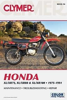 Honda XL/XR75, XL/XR80 & XL/XR100 1975-1991 (Clymer Color Wiring Diagrams)