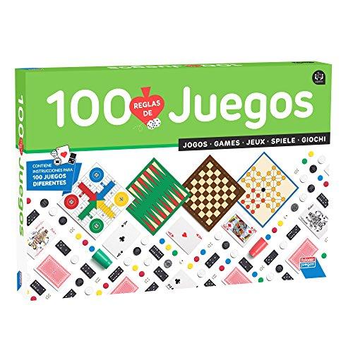 Falomir-100, Multicolor, 100 Juegos Reunidos (32-1308)