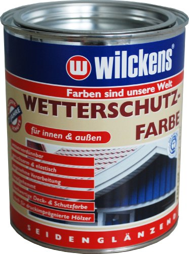 Wilckens Wetterschutzfarbe, RAL 9010 reinweiß, 750 ml 11191000050