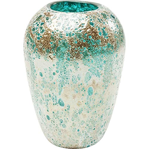 Kare Design Moonscape Turquoise Vase, 22 cm