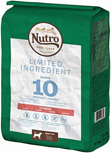 NUTRO Hundefutter Trockenfutter Limited Ingredient Adult 1+ Mit Lachs, 1 Beutel (1 x 11.5kg)