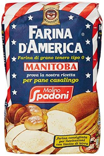 "Spadoni Farina ""0"" Manitoba - 5 pezzi da 1 kg [5 kg]"