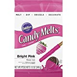 Wilton 1911-424 Candy Melts 12-Ounce Bright Pink