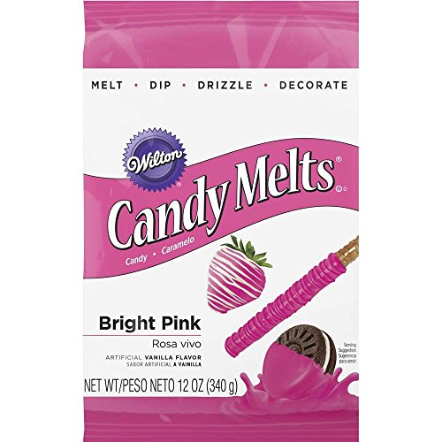Wilton Bright Pink Candy Melts Candy