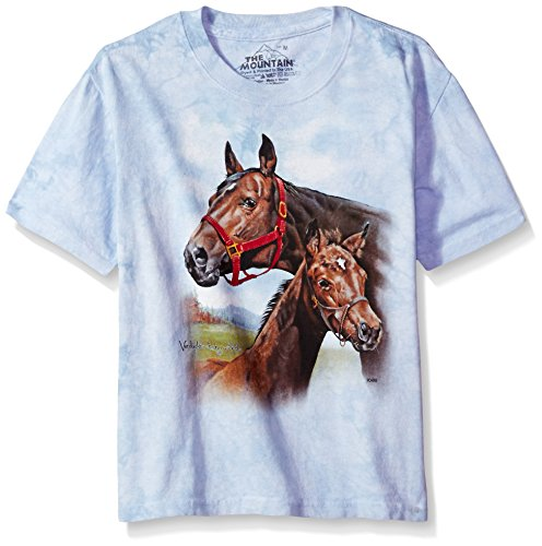 The Mountain Hope For The Roses Child T-Shirt, Blue, Medium