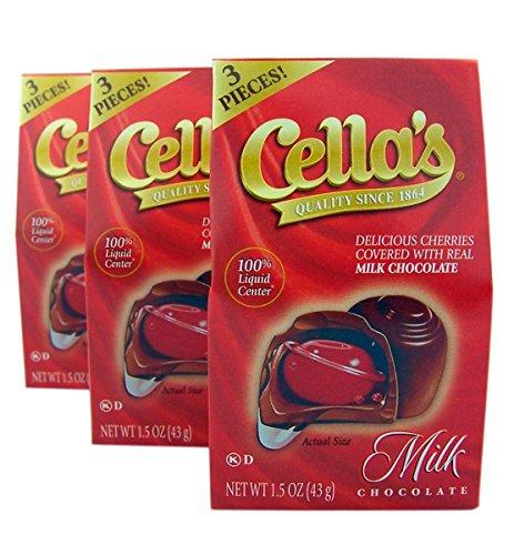 cella dark chocolate cherries - 8