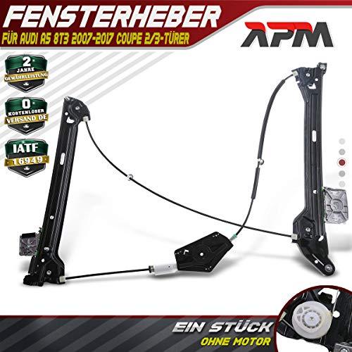 Frankberg Fensterheber Elektrisch Vorne Rechts 2/3-Türer für A5 8T3 Coupe 2007-2017 8T0837462