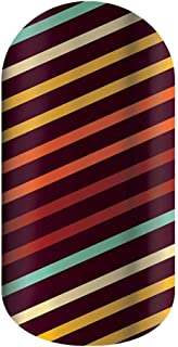 Jamberry Lacquer Strips   Quick & Easy Nail Decal Design   Fun & Trendy Nail Art Stickers   Perfect Gift for DIY Easy Nail Art (Autumn Air)