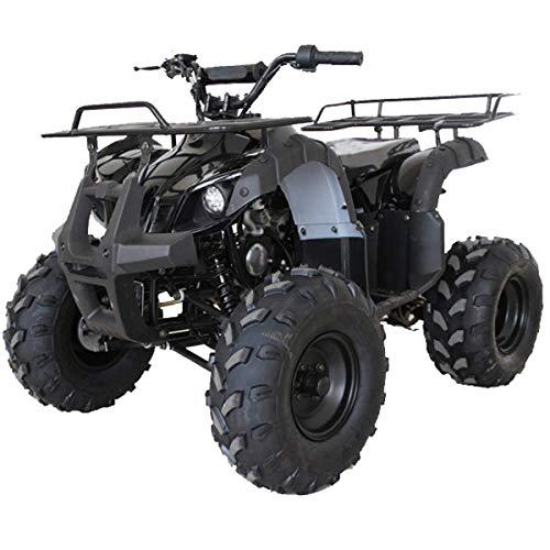 X-PRO ATV for Sale 125cc ATV Quad Youth 4 wheeler ATVs Adults ATV Four Wheelers (Black)