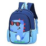 POWOFUN Kids Toddler Travel Backpack Cool Cute Cartoon Schoolbag (Dinosaur Blue Backpack)