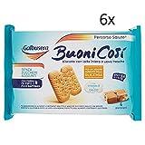 6x Galbusera buono così Kekse mit Getreide cerealien kuchen biscuits 300g