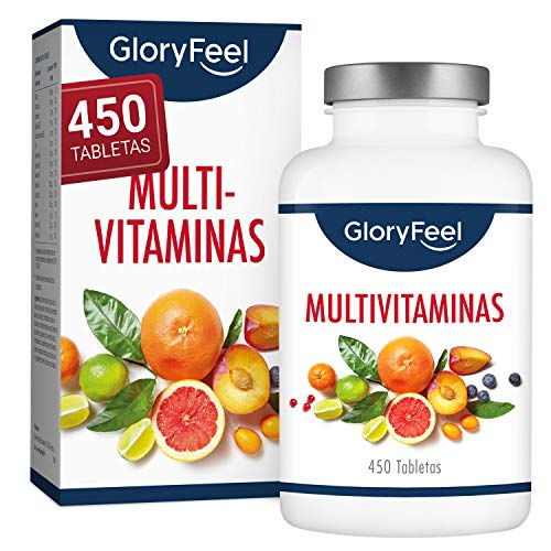 Multivitaminas y Minerales - 450 Comprimidos Veganos (Sumini