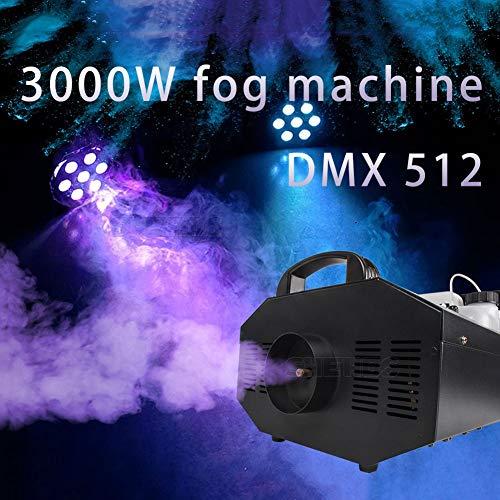 Gorgeous Store Máquina de Humo 3000W DMX512 Alambre y Remoto inalámbrico DJ/Bar/Partido/Mostrar/Luz...