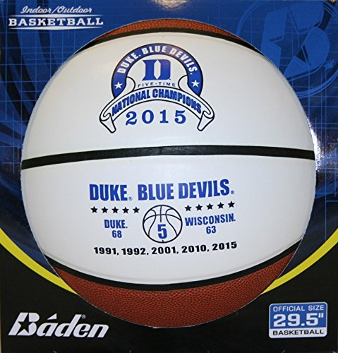 Discover Bargain Duke Blue Devils NCAA 2015 National Champions Souvenir Basketball