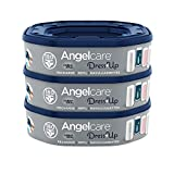 Angelcare - Dress Up - Recharges Octogonales pour Poubelle à Couche Dress up/Essential - Lot de 3