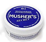 Mushers Secret Paw Wax (60g) – All-Season Pet Paw Protection Against Heat, Sand & Snow – Cat & Dog Paw Balm with Beeswax & Vitamin E – Gluten, Nut & Soy Free – Great for Dogs, Cats, Horses & Chickens
