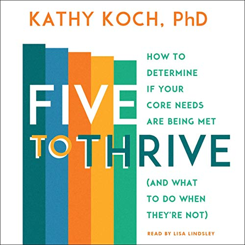 Five to Thrive Audiobook By Kathy Koch PhD cover art