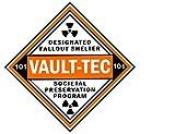 Vault-Tec Designated Fallout Shelter Vinyl Sticker