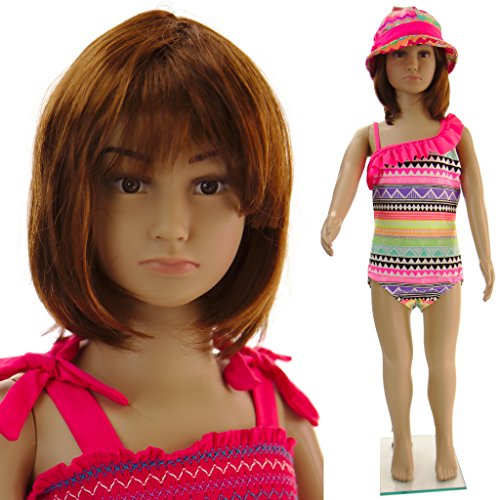 Realistic Standing Unisex Child Mannequin + Base (CB-01)