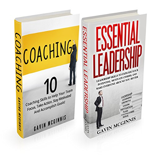 Coaching: 10 Coaching Skills and Essential Leadership cover art