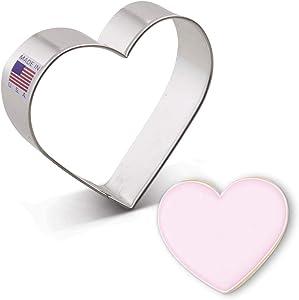 Ann Clark Cookie Cutters Heart Cookie Cutter, 3 3/8