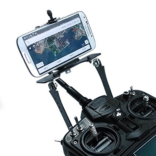 USAQ Universal Cellphone FPV Mount Transmitter Screen Bracket for DJI Spetrum JR Turnigy Radios