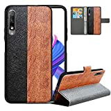 LFDZ Compatible with Huawei Honor 9X Case, PU Leather Honor
