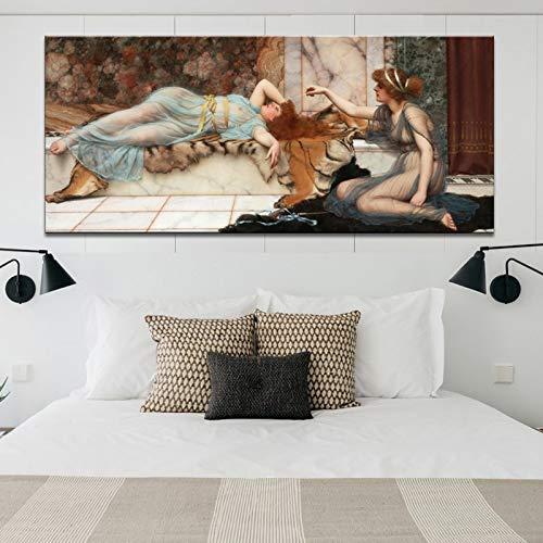 N / A (John William Waterhouse) Moderne dekorative Gemälde von Postern und Drucken Wandkunst...