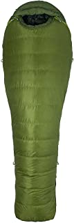 Marmot Never Winter Sleeping Bag: 30 Degree Down Cilantro/Tree Green, Long/Left Zip