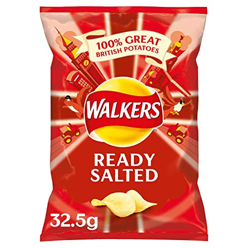 Walkers Crisps Ready Salted 32 x 32,5g