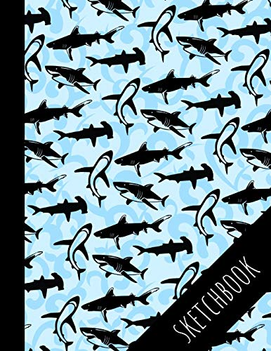 Shark: Sketchbook, Perfect For Drawing And Sketching, Large Pages, Perfect Gift For Shark Lovers
