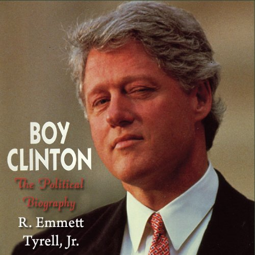 Boy Clinton audiobook cover art
