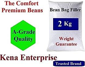 Kena Enterprise Beans Comfort Silky Beans 2 Kg Beans for Bean Bag Filling