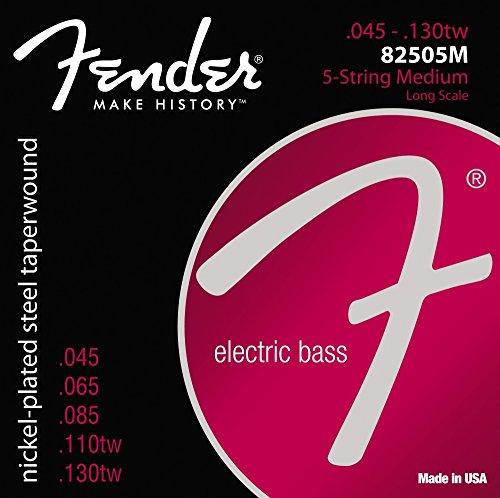 Fender 073-8250-456 8250-5M Saitensatz für 5-Saiter E-Bass