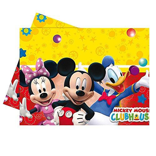 Disney Topolino Mickey Mouse - Festa di Compleanno Tovaglia 1,20 x 1,80 m Topolino