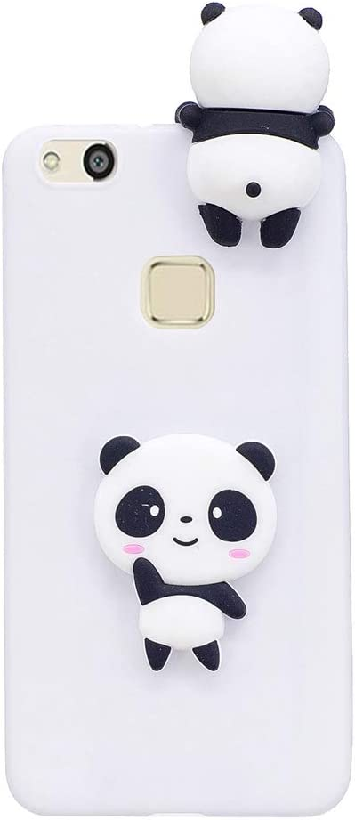 Amazon.com: SHUNDA Huawei P10 Lite Case, Soft Silicone Gel Bumper ...