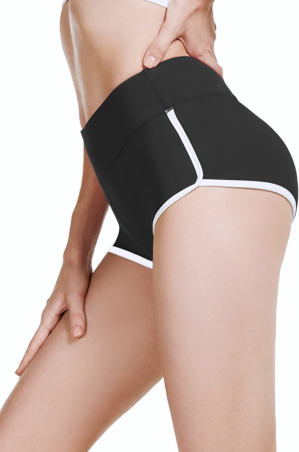 Baleaf Women's Workout Active Booty Shorts Opening large release sale OFFicial site Yoga Pole Short