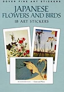 Japanese Flowers and Birds: 18 Art Stickers (Dover Art Stickers)
