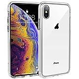 Syncwire Coque iPhone XS - UltraRock Series Housse Rigide de Protection avec Protection Anti-Chute et Technologie Avancée de Coussin d'air pour iPhone XS - Ultra Transparent