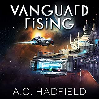 Vanguard Rising audiobook cover art