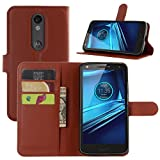 Droid Turbo 2 Case, Fettion Premium PU Leather Wallet Case Book Flip Phone Case...